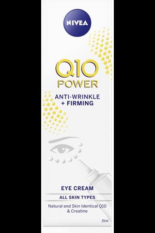 NIVEA 15ml Q10 POWER Anti-Wrinkle + Firming Eye Cream silmänympärysvoide