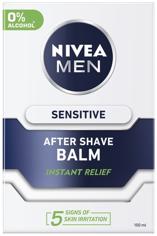 NIVEA MEN 100ml Sensitive After Shave Balm -partabalsami