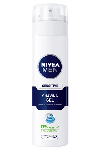 NIVEA MEN 200ml Sensitive Shaving Gel -parranajogeeli