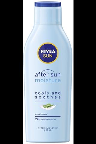 NIVEA SUN 200ml Moisture After Sun Lotion -voide auringonoton jälkeen