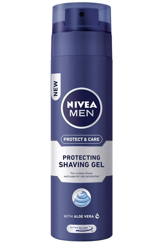 NIVEA MEN 200ml Protect & Care Protecting Shaving Gel -parranajogeeli