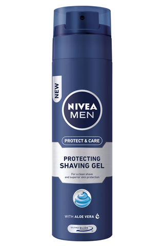 NIVEA MEN 200ml Protect & Care Protecting Shaving Gel -parranajogeeli