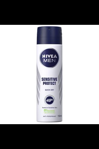 NIVEA MEN 150ml Sensitive Protect Deo Spray -antiperspirantti