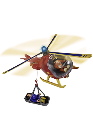 Palomies Sami Wallaby helikopteri+hahmo