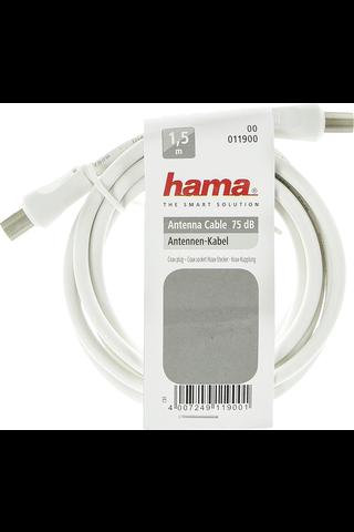 Hama antennijohto 75dB 1,5m valkoinen