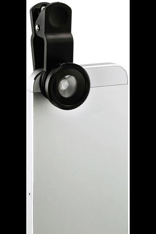 Hama Uni 3in1 linssisarja älypuhelimille ja tableteille