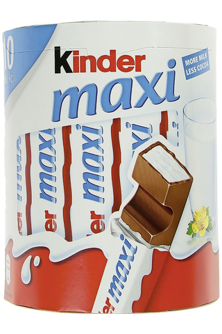 Kinder Maxi 10 pack Maitosuklaapatukka