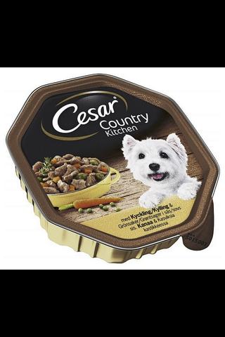 Cesar Country Kanaa & Kasviksia kastikkeessa 150g