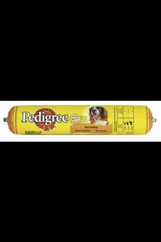 Pedigree 500g kana koiranmakkara, täysrehua koirille