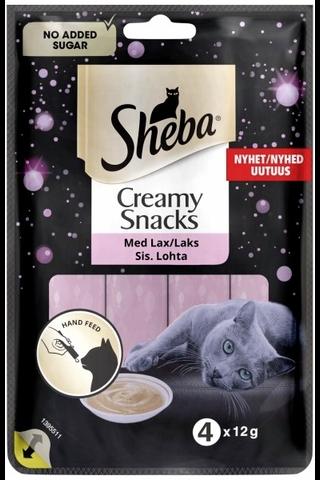Sheba Creamy Snacks Lohta 4x12g
