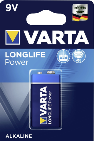 Alkaliparisto Varta High Energy 9 V 6LR61