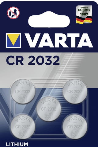 Varta 1kpl CR2032 Multiblister 5-pack Lithium paristo