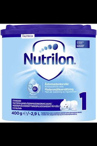 Nutrilon Standard 1 400g äidinmaidonkorvikejauhe 0-6 kk