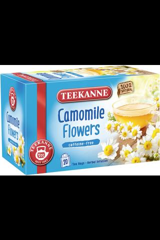 Teekanne 20x1,5g Camomile Flowers Herbal Infusion Kamomilla yrttipussitee