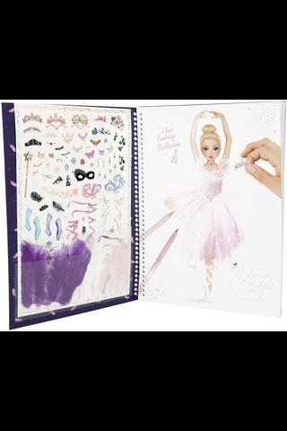 Fantasy Ballerina suunnittelukirja