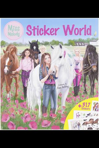 Miss Melody Stickerworld tarrakirja