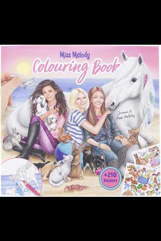 Värityskirja Miss Melody