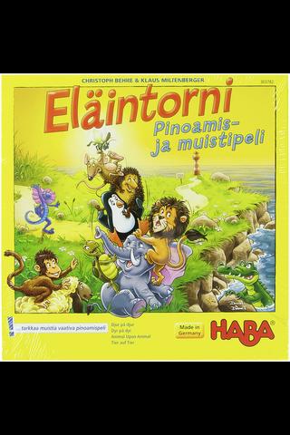 Haba Eläintorni kasattava muistipeli 5v+