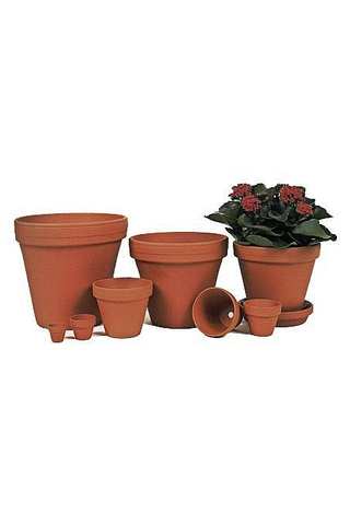 Scan-Pot saviruukku 18cm terracotta