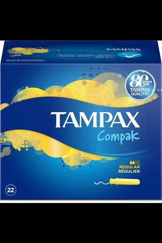 Tampax 22kpl Compak Regular tamponi