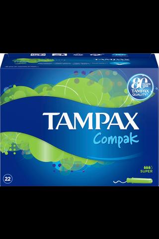 Tampax Compak Super tamponi 22kpl