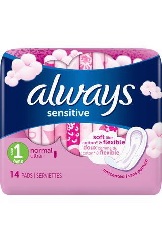 Always 14kpl Sensitive 1 terveysside