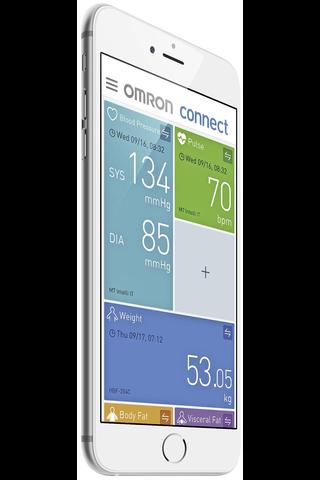 Omron M7 Intelli IT automaattinen olkavarsi verenpainemittari