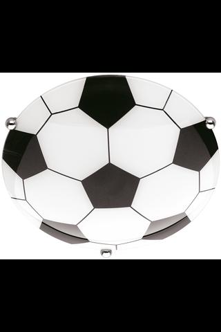 Trio Soccer plafondi valkoinen/musta 1xE27 max 60 W