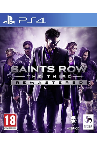PS4 Saints Row the Third - Remastered