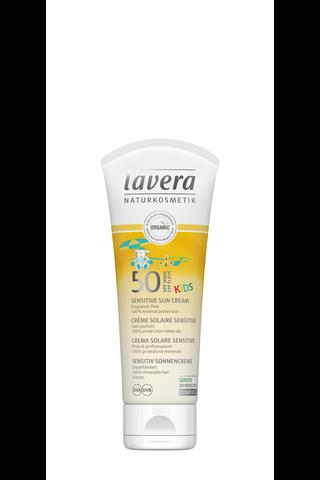 lavera Kid's Sensitive Sun Cream SPF 50 75ml