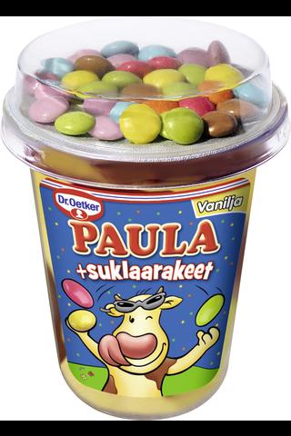 Dr. Oetker PAULA Vanilja-Suklaa vanukas +suklaarakeet 125g