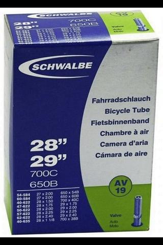 """Schwalbe polkupyörän sisärengas 28"""" 40/62-622/635 av19 40mm"""