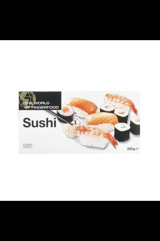 Dencon Foods The World Of Fingerfood Sushi 10x225g, 2,25 kg/ltk, pakaste