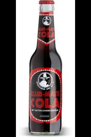 Club-Mate Cola 0,33l virvoitusjuoma, sisältää luonnollista kofeiinia