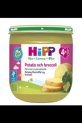 HiPP 125g Luomu Perunaa, Parsakaalia & Riisiä 4 kk
