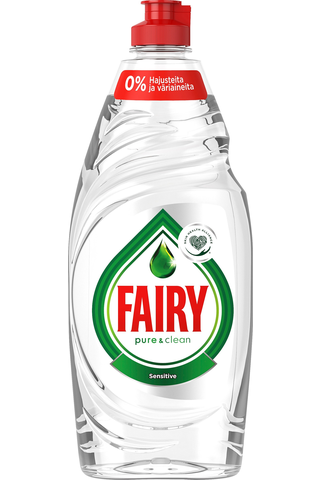 Fairy 500ml Naturals Sensitive astianpesuaine
