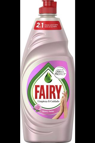 Fairy 500ml Rose & Satin astianpesuaine