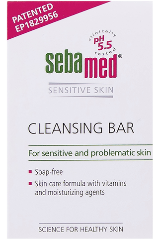 Sebamed Soapfree Cleansing Bar 100 G