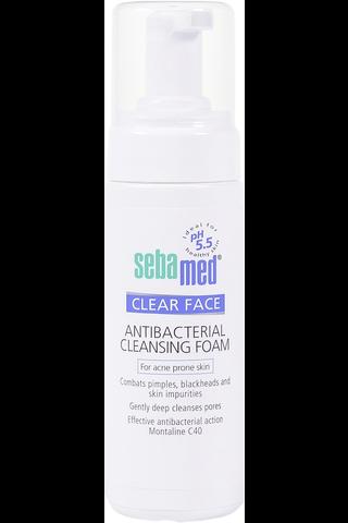 Sebamed 150ml Clear Face Cleansing Foam puhdistusvaahto