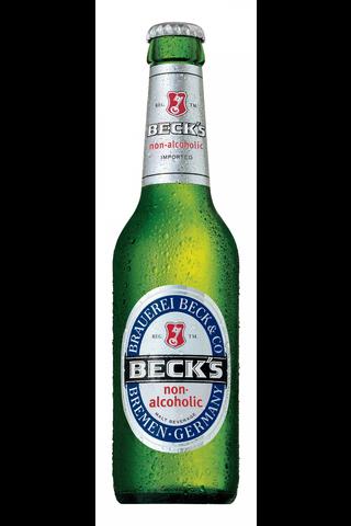 Beck´s 0,33l Blue non-alcoholic pullo olut