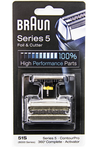 Braun 51S Silver Combi Pack