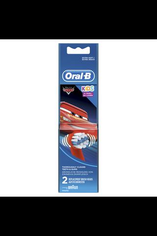 Oral-B EB10-2 Stages Prinsessat lasten vaihtoharja 2kpl