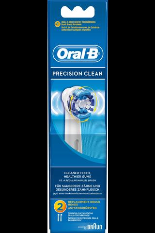 Oral-B vaihtoharja 2kpl Precision Clean
