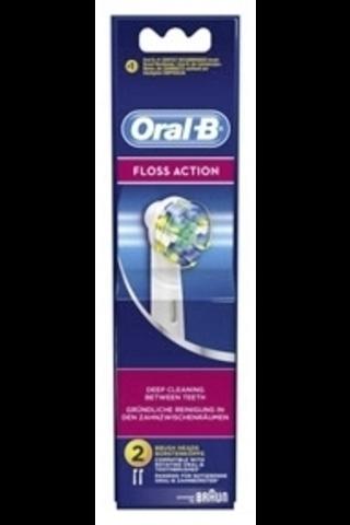 Oral-B EB25-2 Floss Action vaihtoharja 2kpl