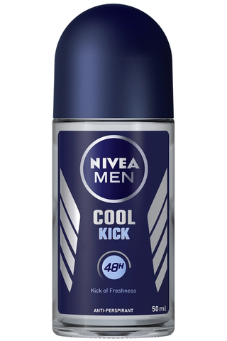 NIVEA MEN 50ml Cool Kick Deo Roll-on -antiperspirantti