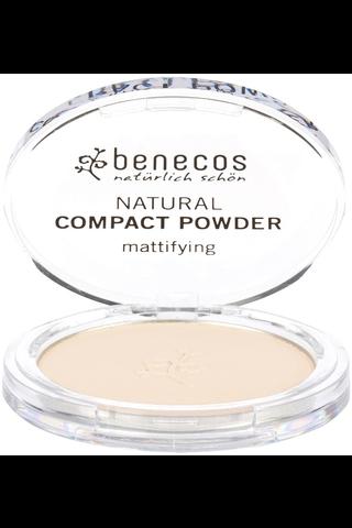 benecos Natural Compact Powder porcelain 9g