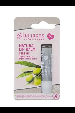 benecos luonnollinen huulivoide classic pahvipakkaus 4,8g