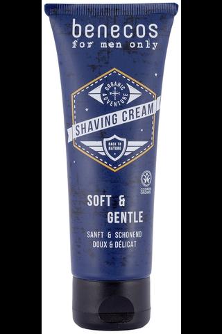 benecos for men only shaving cream parranajovoide 75ml