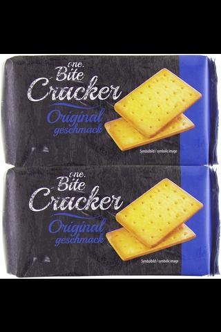 One Bite Crackers Original 2-pack (2x100g)