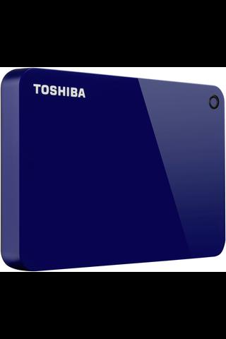 Toshiba ulkoinen kovalevy Canvio Advance 1Tt sininen